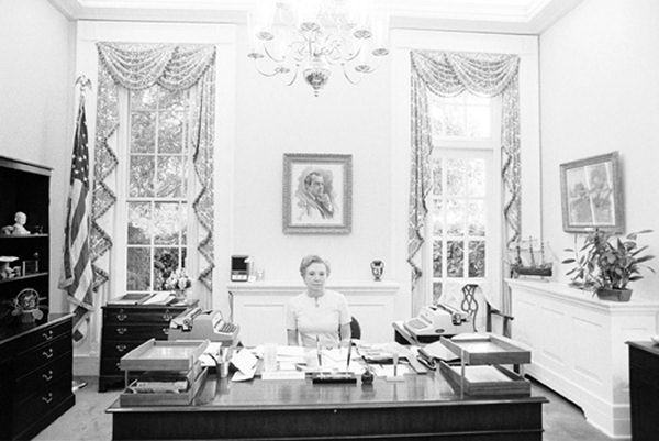nixon's secretary